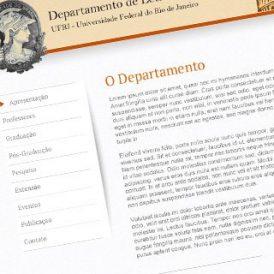 UFRJ – Departamento de Letras Clássicas